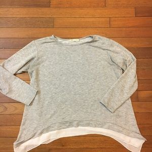 Pebble and Stone Anthropologie Long Sleeve Top